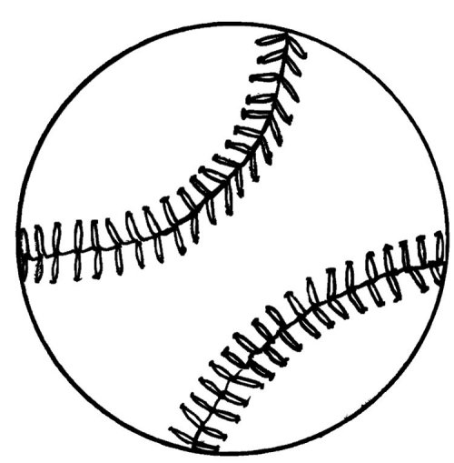 baseball glove coloring pages - photo#29