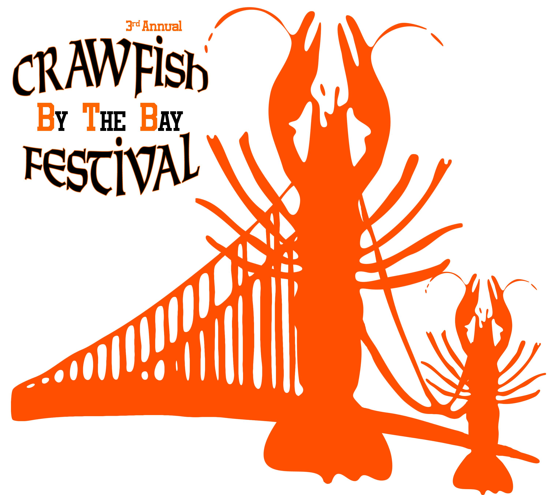 13 crawfish log... Art Clipart Logo