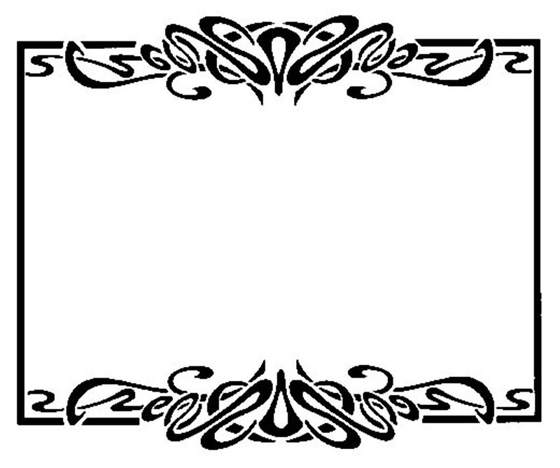 Free Art Nouveau Borders Image Search Results ClipArt Best ClipArt