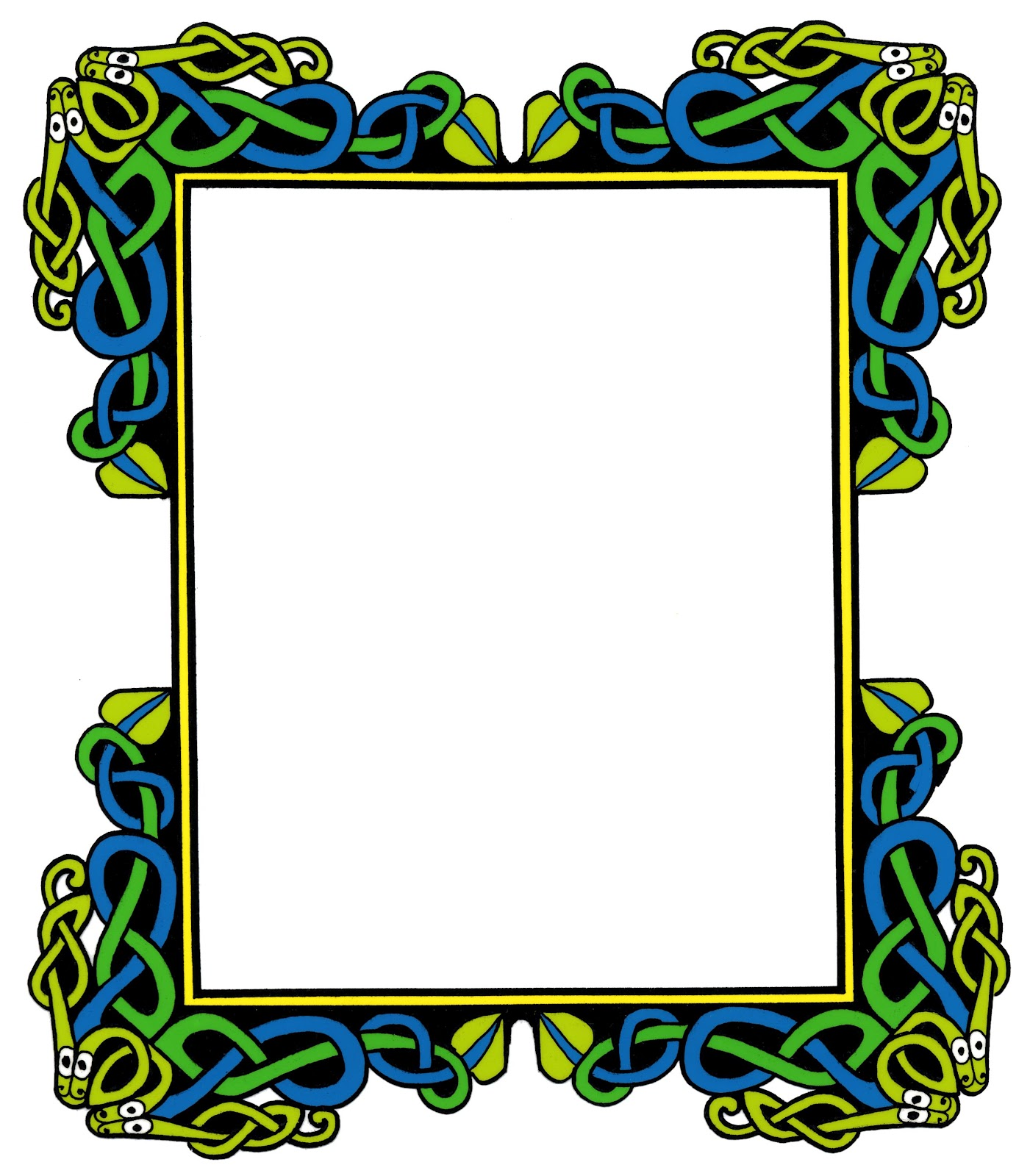 Celtic Page Borders - ClipArt Best