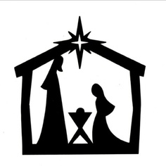 Nativity Silhouette Patterns - ClipArt Best