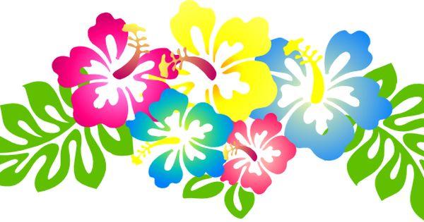 Цветы гавайские