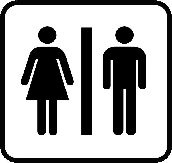 Free Download Best Restroom Clipart On: Washroom Logo