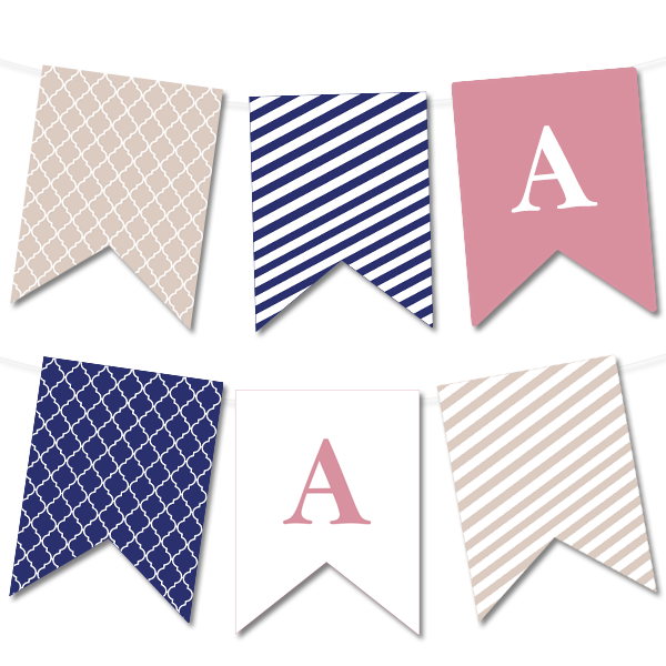 Design Your Own Pennant Free Download