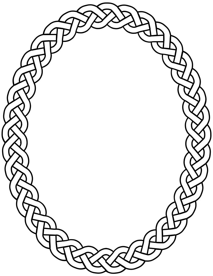 clip art oval frames free - photo #36