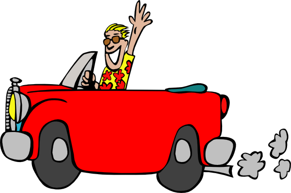 Drive A Car Clipart Clipart Best