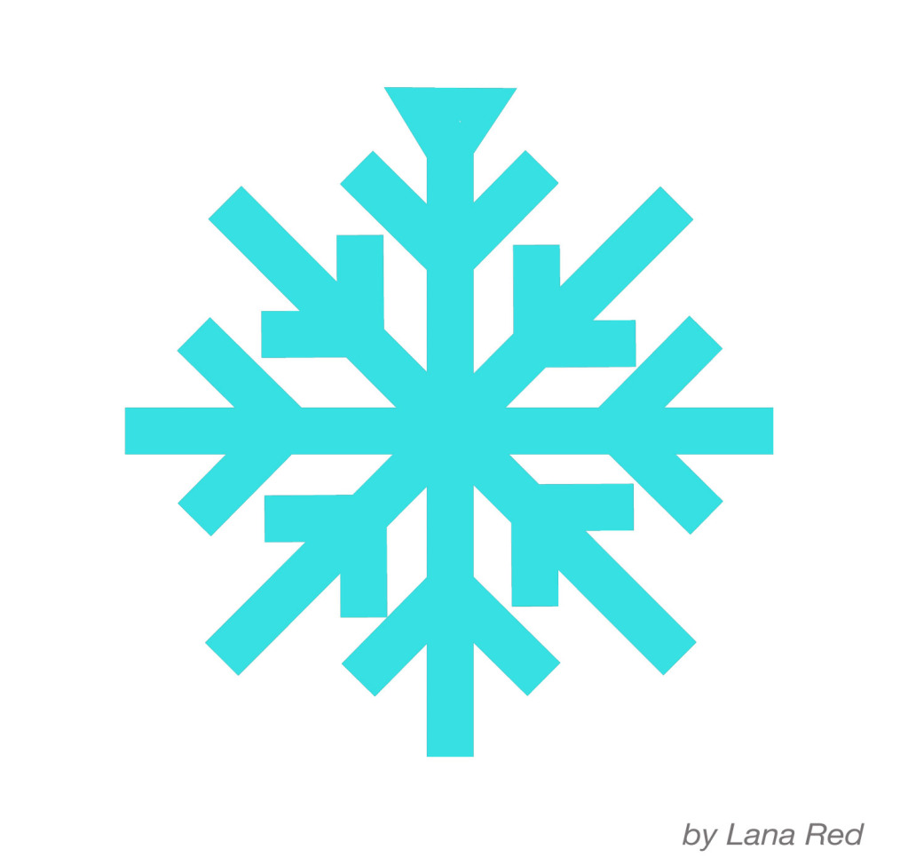 Snowflake Template - ClipArt Best