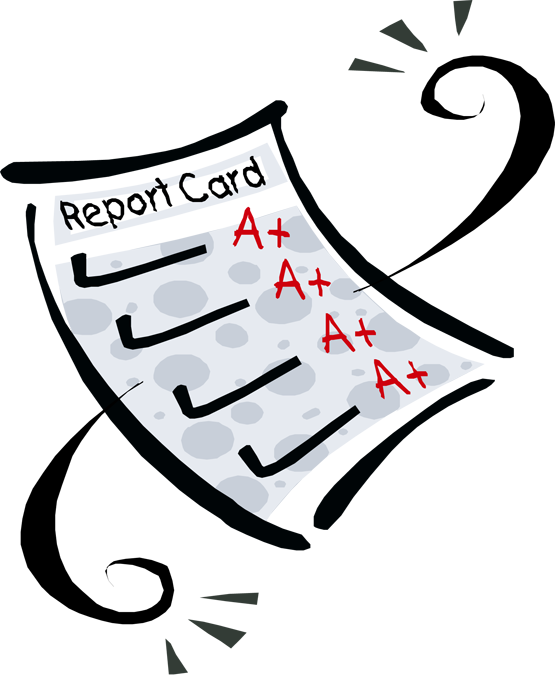 free clipart school report card - photo #2