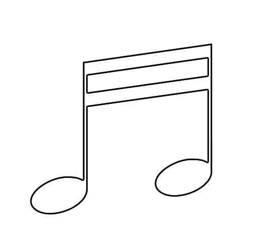 Music Note Printables