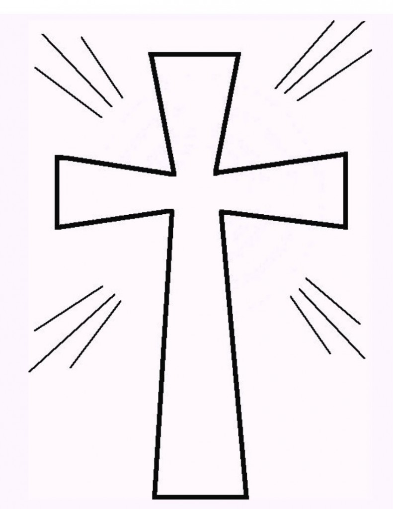 Free Cross Outline - ClipArt Best