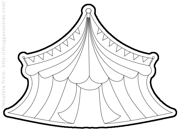 circus tent template clipart best circus tent clip art silhouette circus tent clip art free