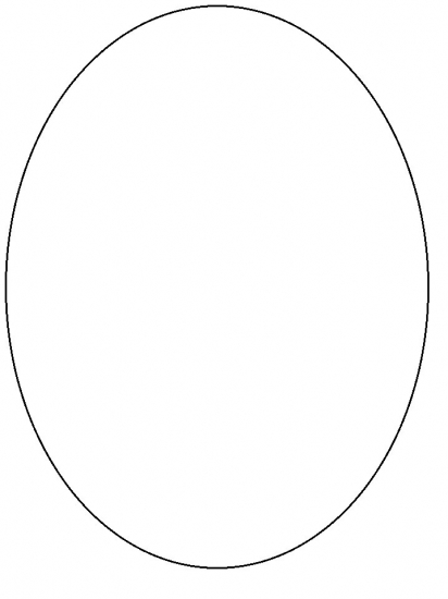 printable coloring pages shape oval - photo#27