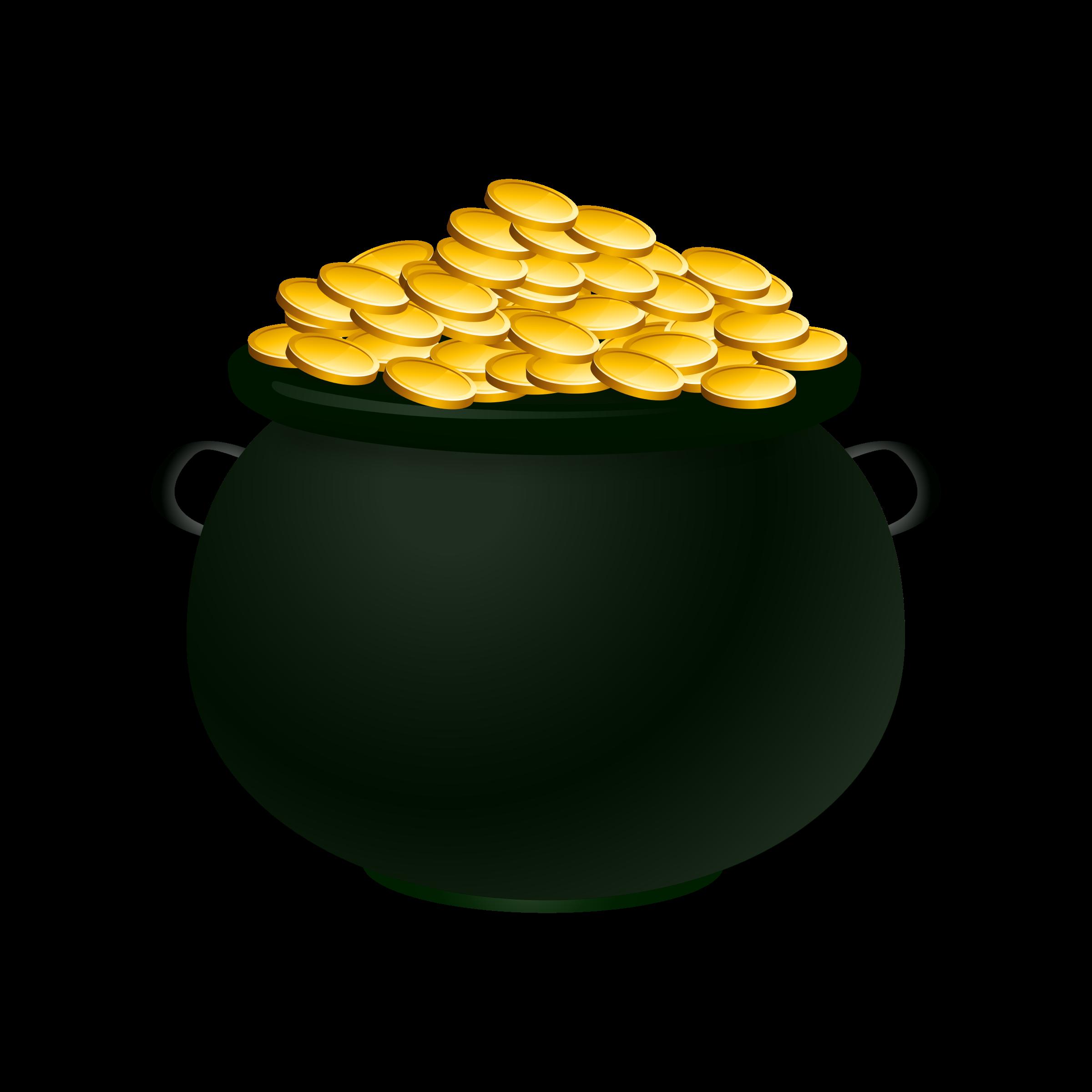 Image Pot Of Gold - ClipArt Best