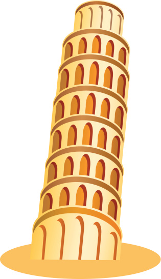 Leaning Tower Of Pisa Clipart - ClipArt Best
