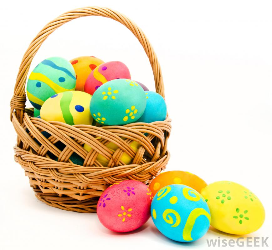 Easter Eggs In A Basket - ClipArt Best