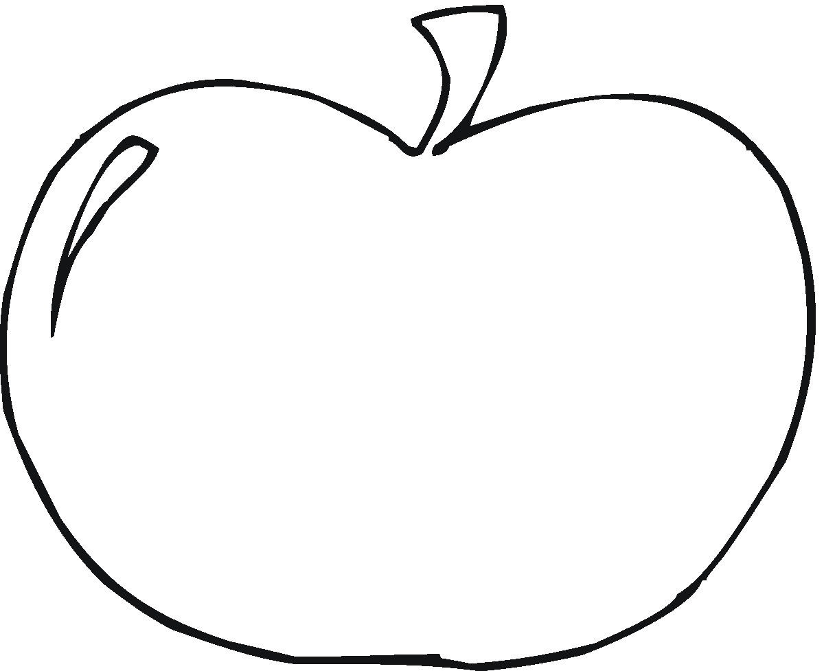 Free Apple Fruit Coloring Pages | Fruits Coloring pages of ... | 977x1200
