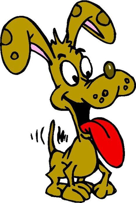 yellow dog clipart - photo #25