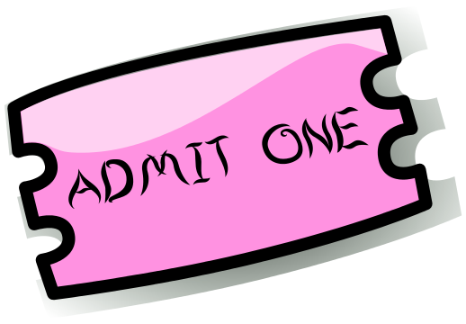 Admit One Ticket Template Free ClipArt Best – Ticket Admit One Template