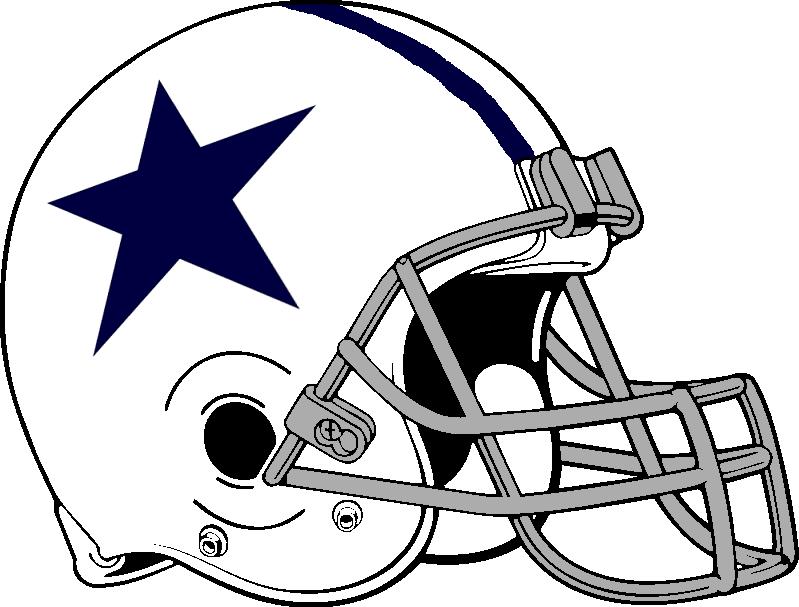 Cowboys Football Helmet Clip Art Clipart Best