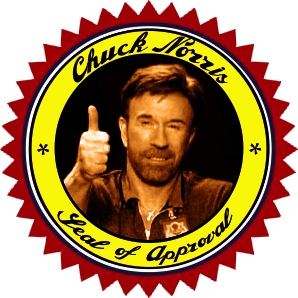 chuck norris approved stamp - photo #24