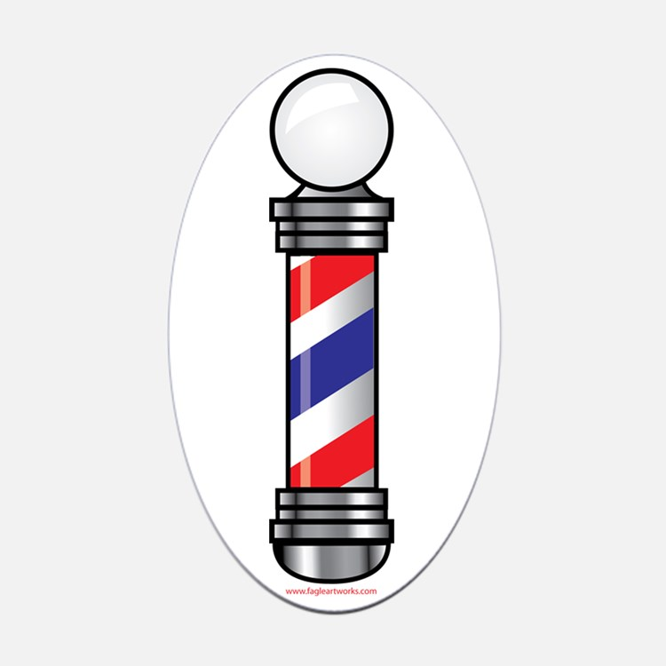 barber shop pole logo barber shop pole logo clipart best