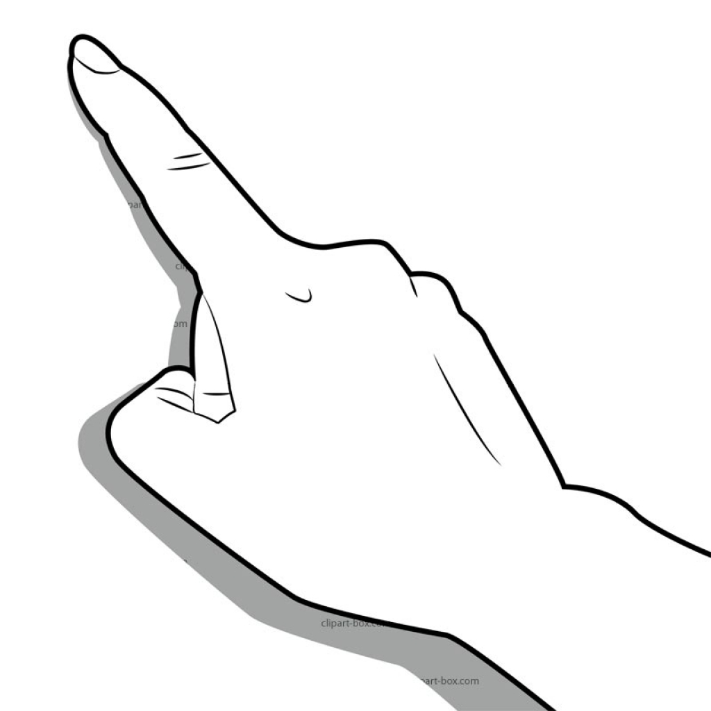 clipart man pointing finger - photo #28