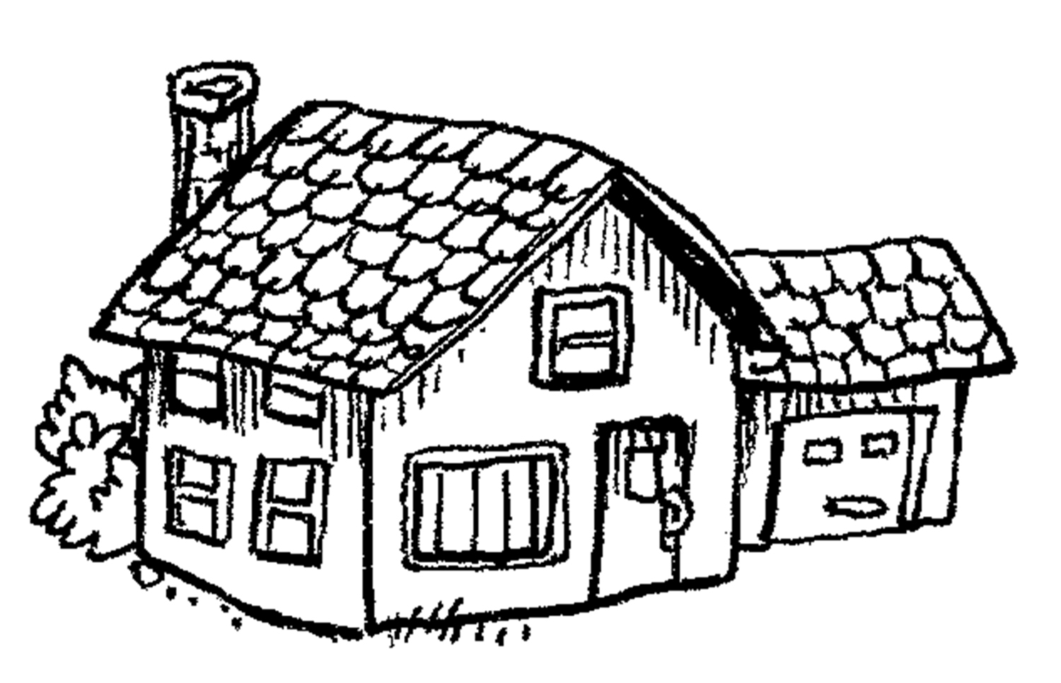 School House Outline - ClipArt Best