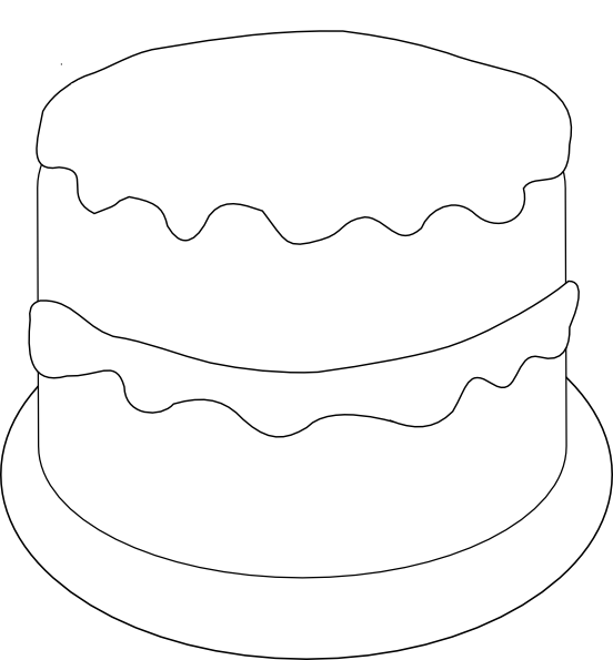 Cake Stencil Designs To Print : Free Cake Stencil Printable - ClipArt Best