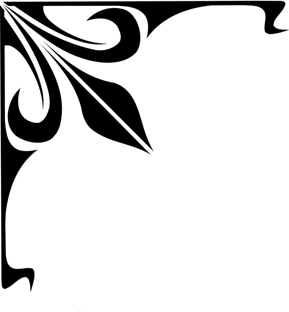 Corner Scroll Designs: Corner Scrolls