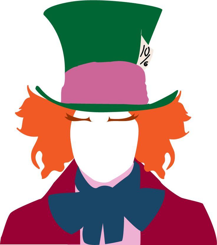 mad hatter cartoon hat clipart best