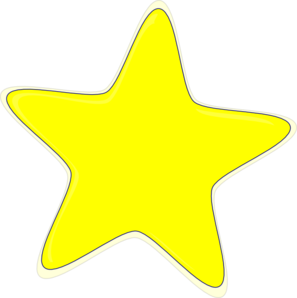 Yellow Star Clip Art Free