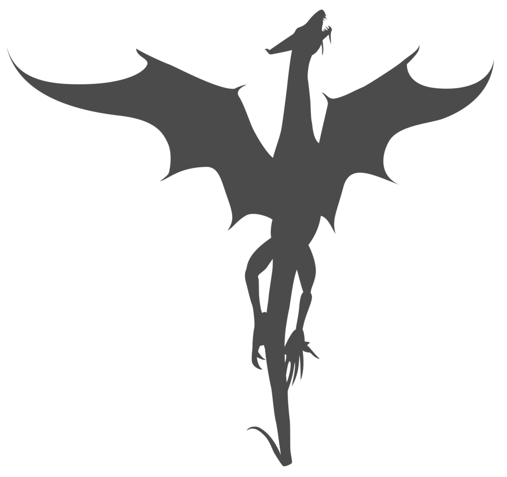 Dragon Silhouette - ClipArt Best