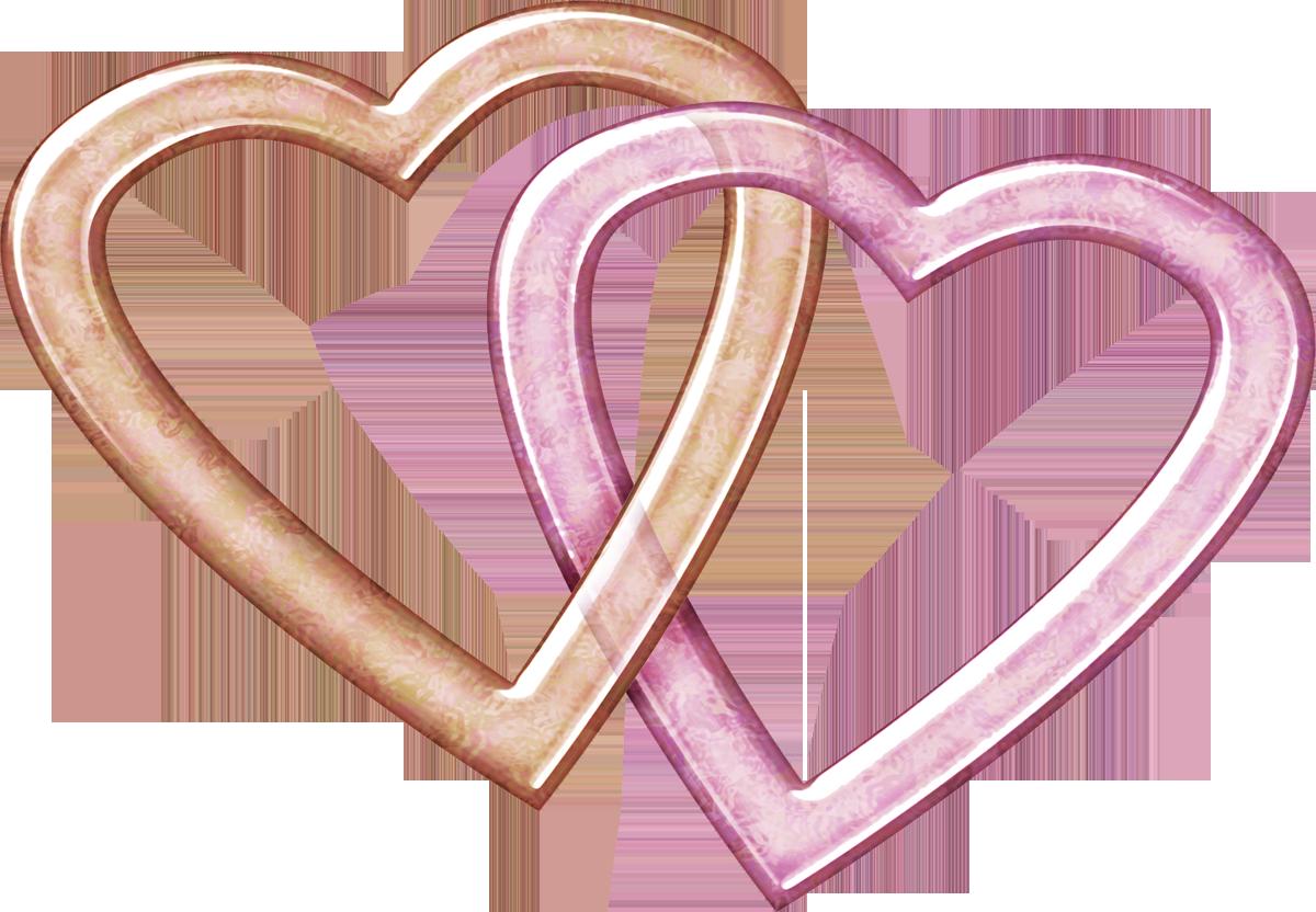 clip art double hearts free - photo #19