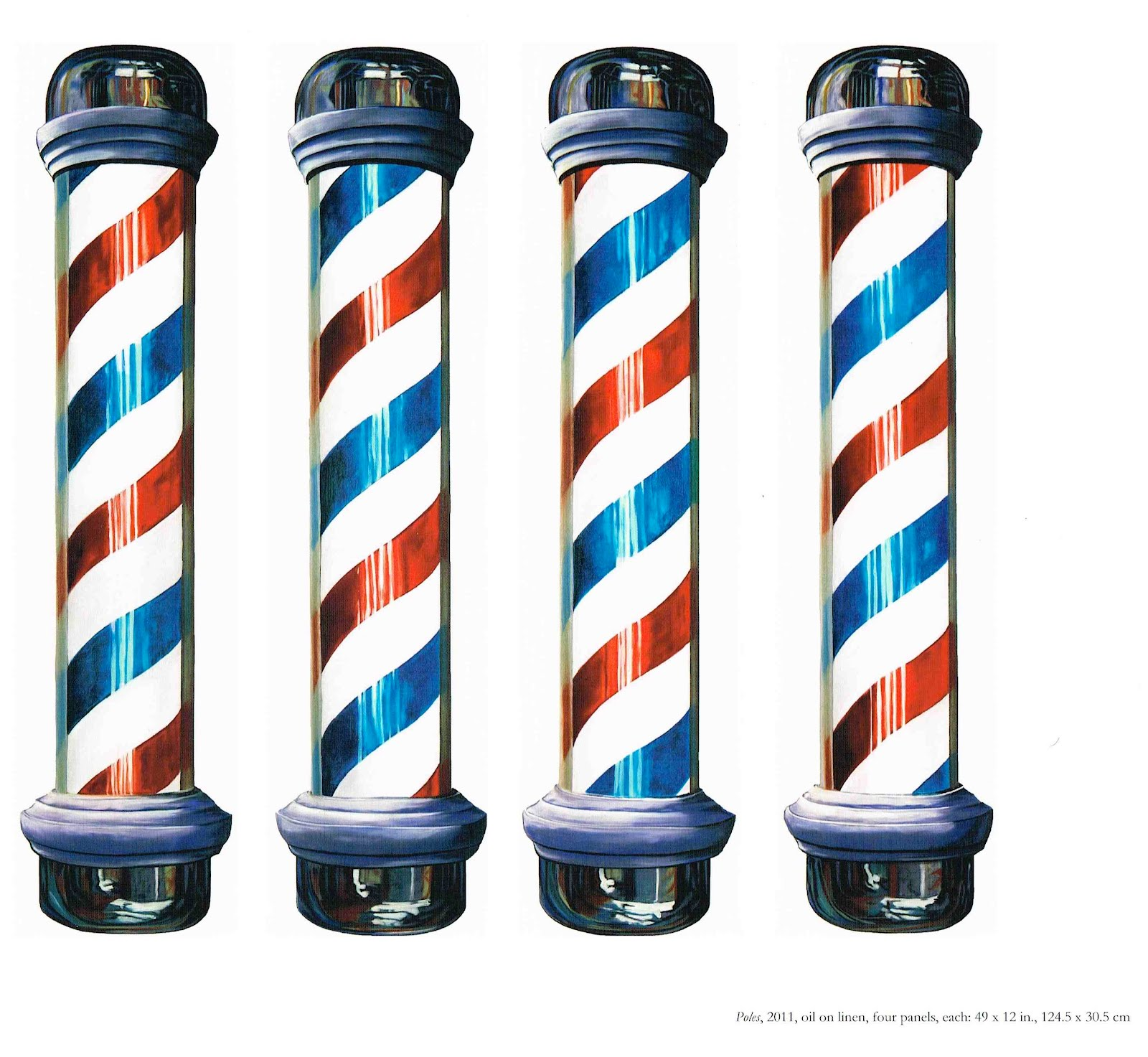 pictures of barber poles clipart best Barber Pole Images Free Free Vintage Barber Poles