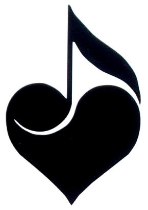 Cool Music Heart Tattoos Drawings - ClipArt Best