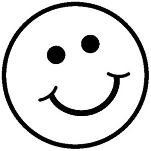 Emoji Faces Coloring Pages at GetColorings.com | Free ... |Finger Face Happy Coloring