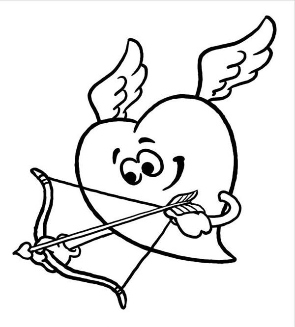 Cupid Line Drawing ClipArt Best