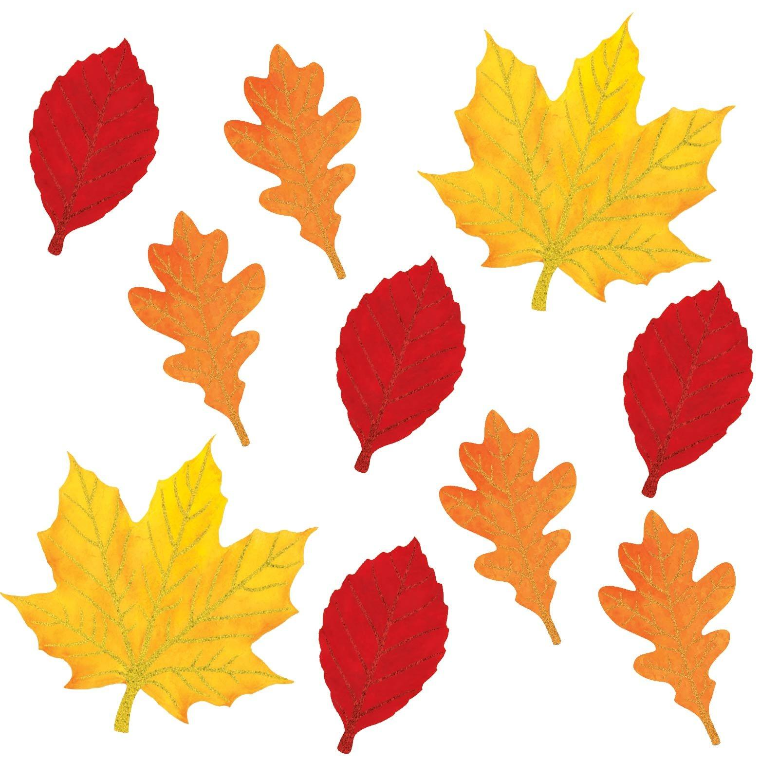 This is a graphic of Handy Fall Leaf Printable