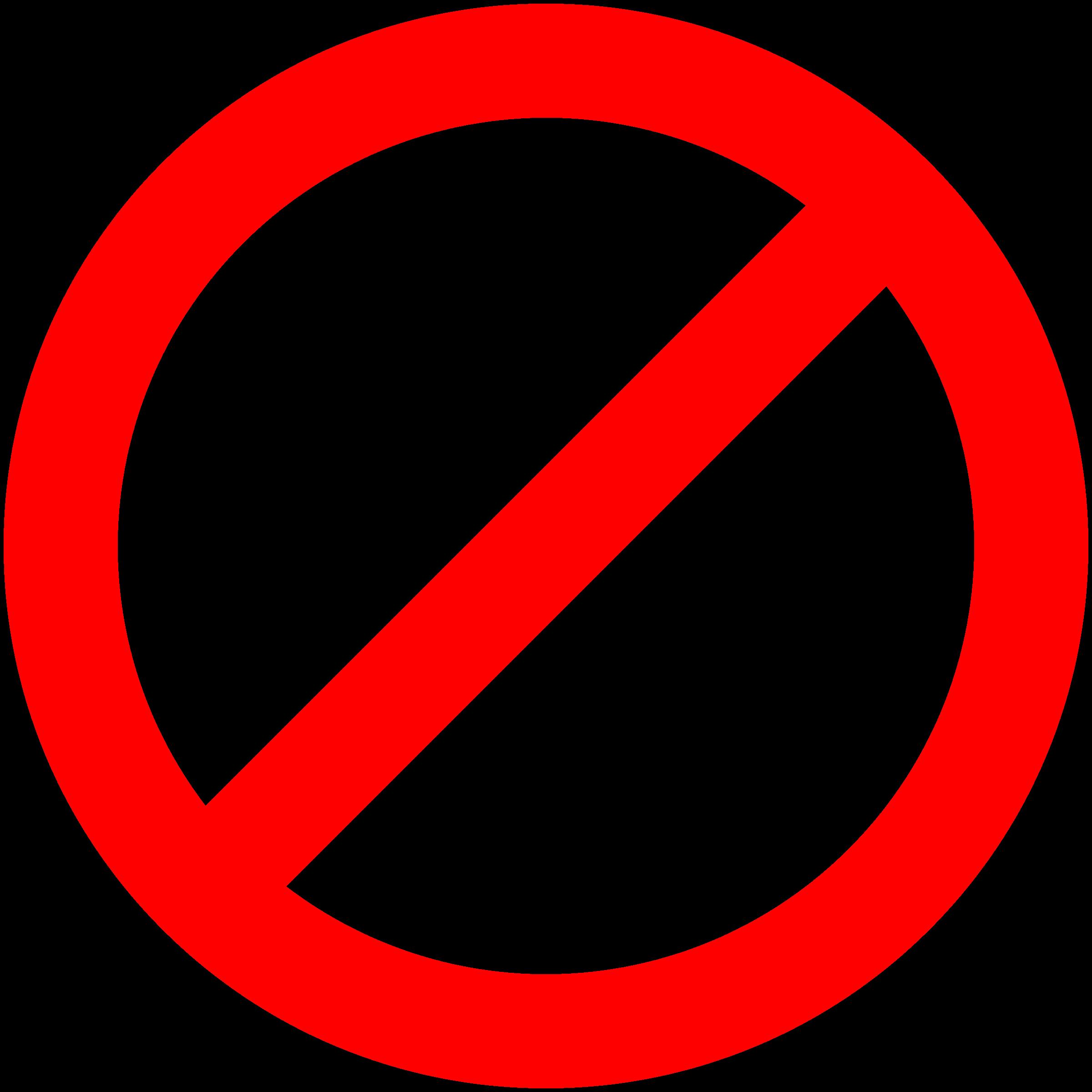 Transparent no signHow About No Transparent