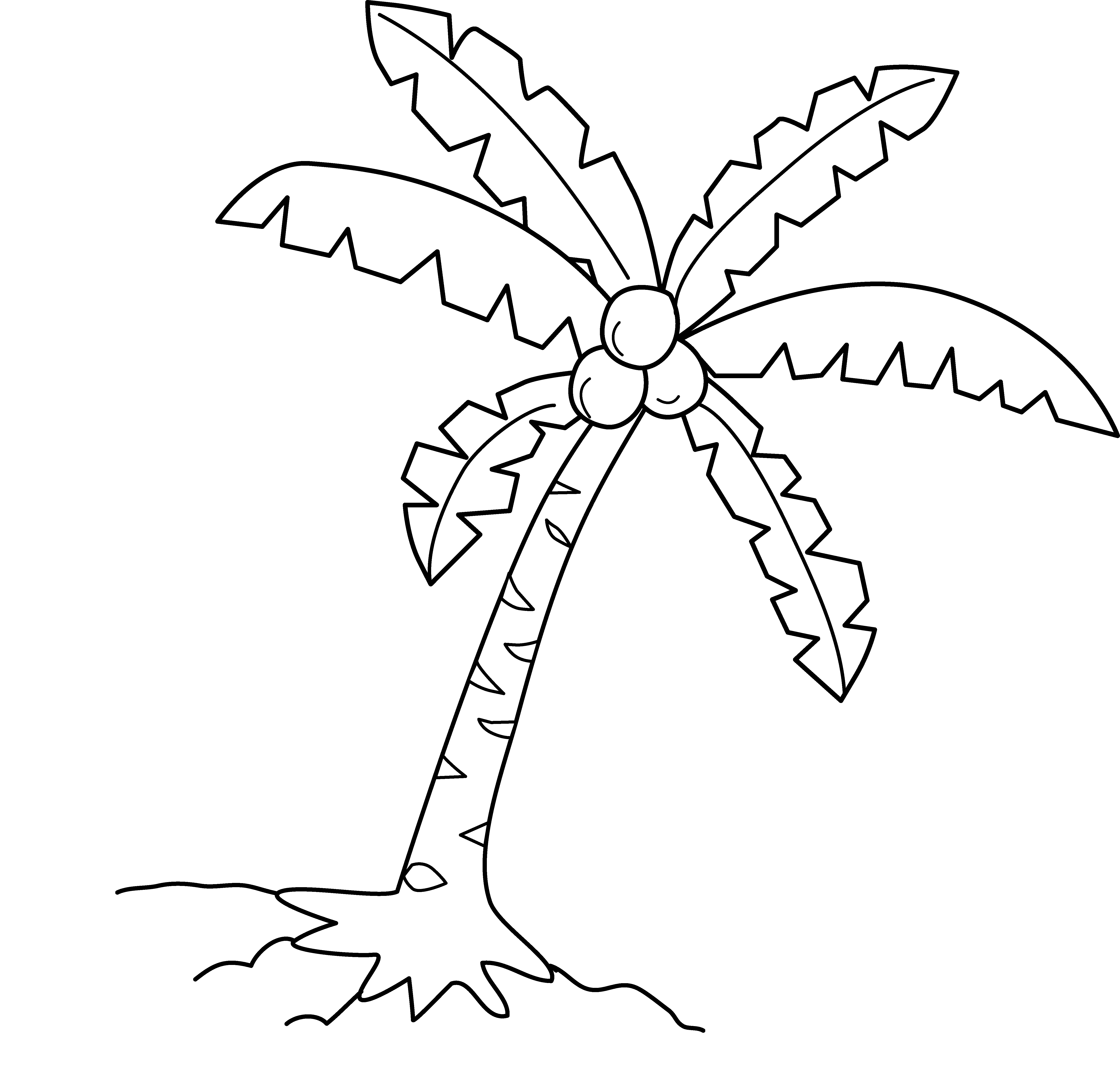 Cartoon Coconut Trees - ClipArt Best