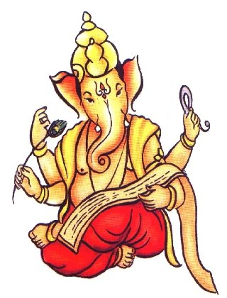 Drawing Painting Pictures of Shri Ganesha - ClipArt ...