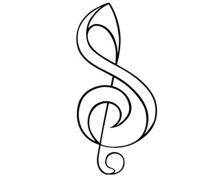 S Treble Clef by awalkinmyshoes