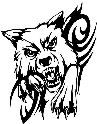 Tribal Animal Sticker