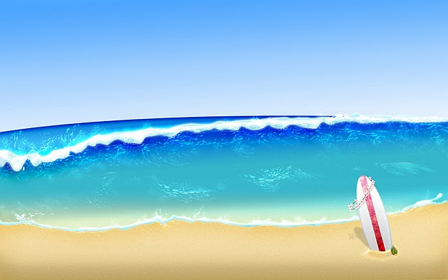 Beach Background Clipart Backgrounds Free Beach