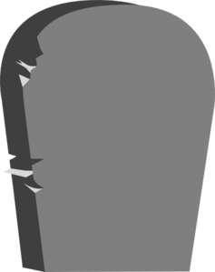 Blank gravestone clipart best for Tombstone templates for halloween