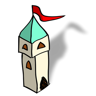 Free Stock Photos   Illustration Of A Small Cartoon Castle Tower ...: www.clipartbest.com/cartoon-castle-images