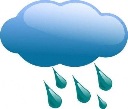 Cloud With Rain - ClipArt Best