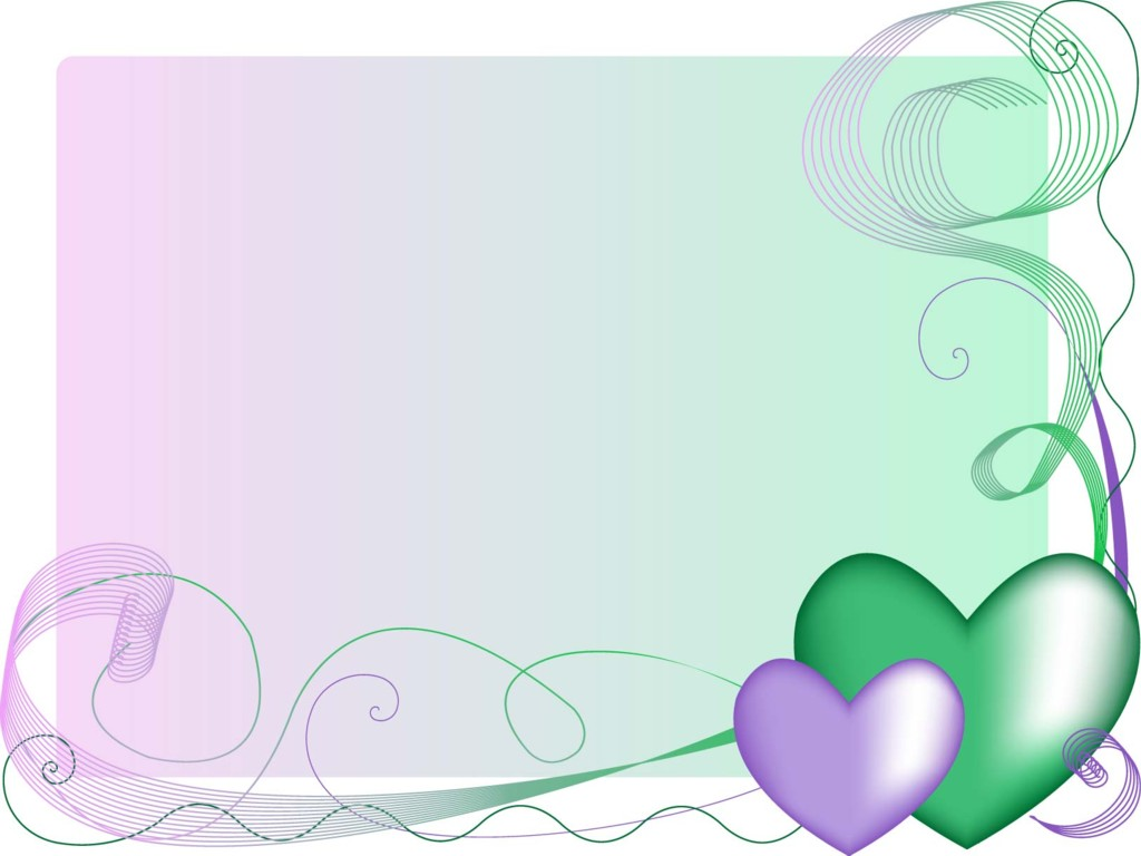 Wallpapers wedding invitation powerpoint free hearts weddings
