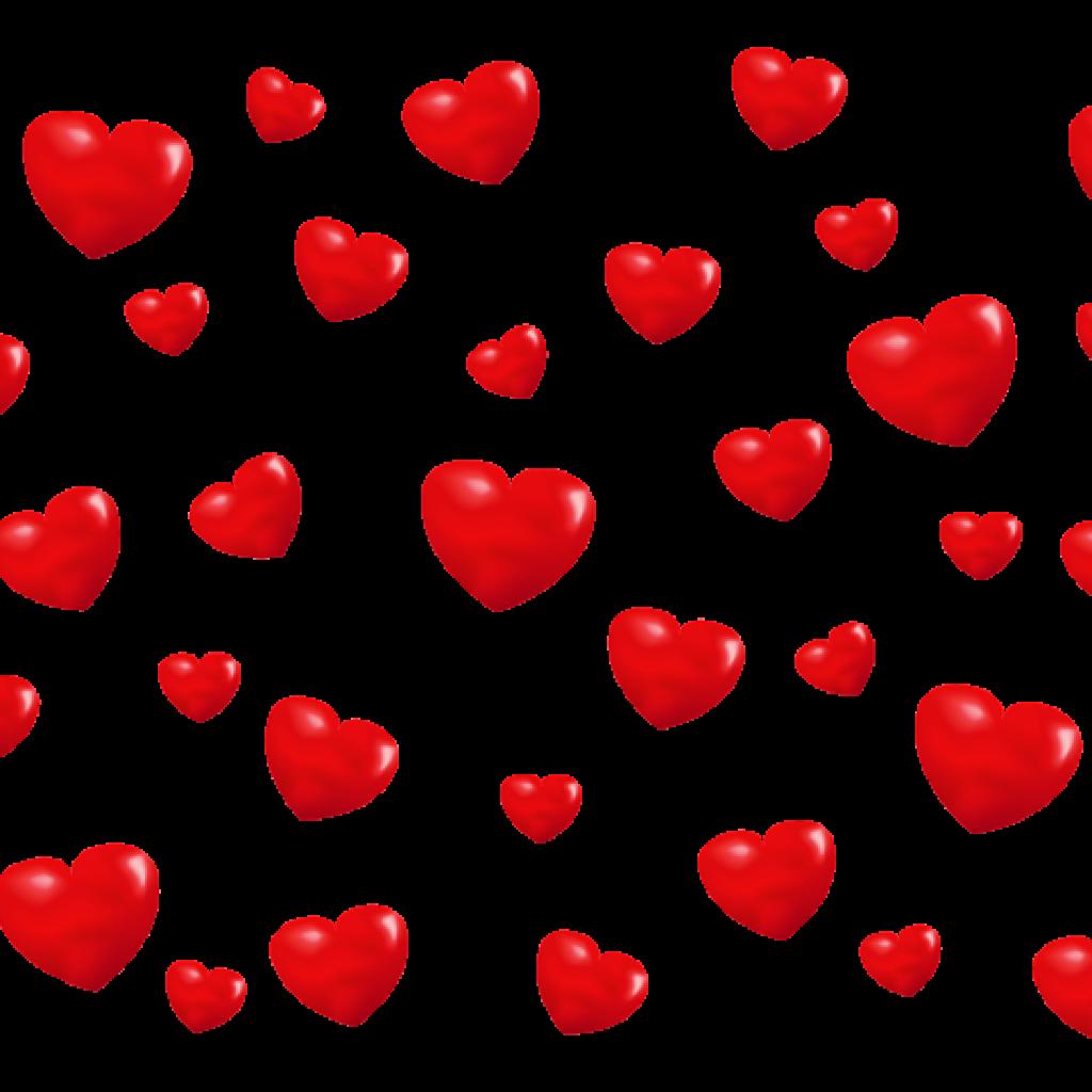 Heart background clipart best for Transparent top design