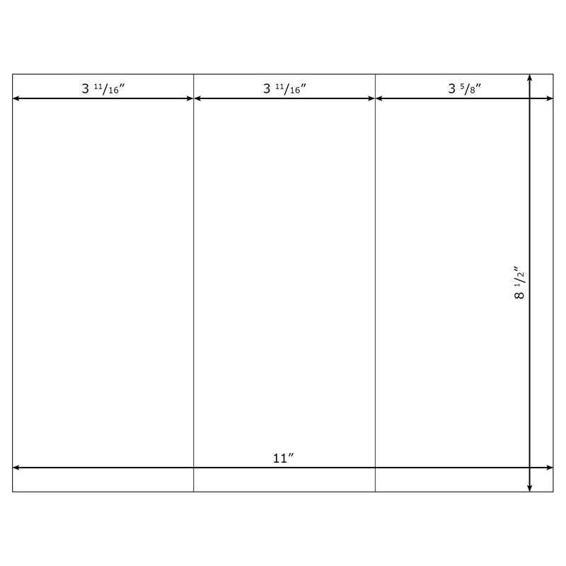 blank brochure template - blank brochure template best car gallery clipart best